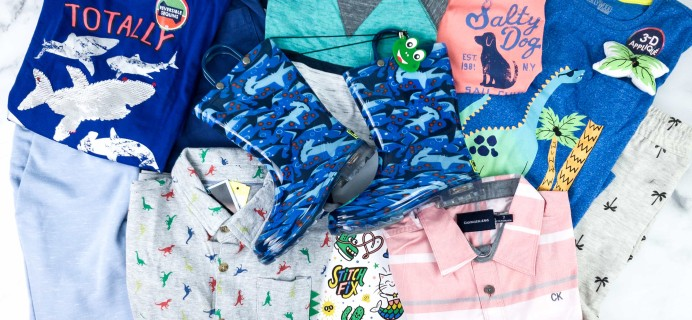 Stitch Fix Kids Review – Little Boys May 2020