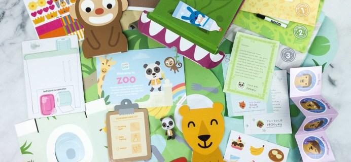 Sago Mini Box May 2020 Subscription Box Review + Coupon – Zoo!