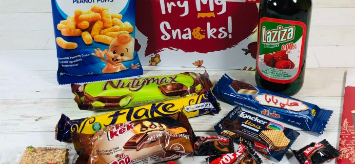 Try My Snacks May 2020 Subscription Box Review