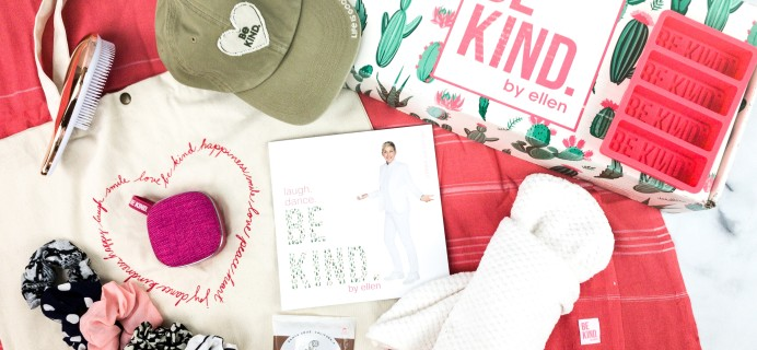 BE KIND by Ellen Summer 2020 Subscription Box Review