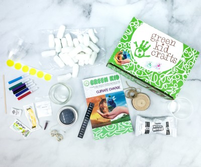 Green Kid Crafts CLIMATE CHANGE Subscription Box Review + 50% Off Coupon!