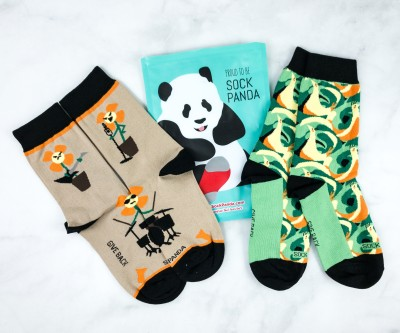 Sock Panda Tweens June 2020 Subscription Review + Coupon