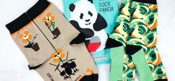 Sock Panda Tweens June 2020 Subscription Review + Coupon