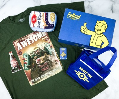 Loot Crate Fallout Crate April 2020 Review + Coupon