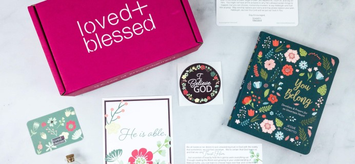 Loved+Blessed June 2020 Subscription Box Review + Coupon