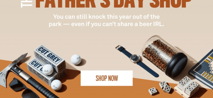 Bespoke Post Father's Day Gift Shop Open Now & 20% Off Coupon!