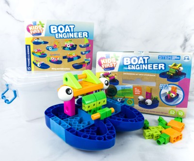 Amazon STEM Toy Club Review – 3 to 5 Years: First Boat Engineer Science Kit