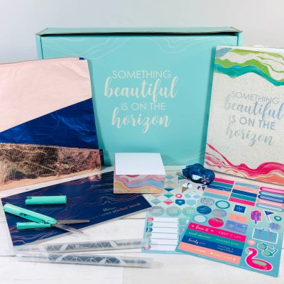 Erin Condren Seasonal Surprise Summer 2020 Subscription Box Review