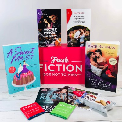 Fresh Fiction Box May 2020 Subscription Box Review + Coupon