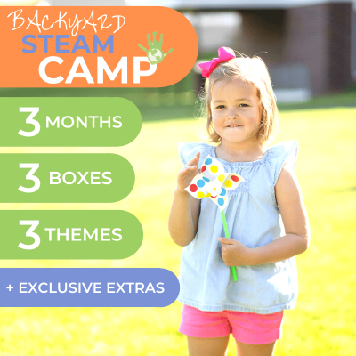 Green Kid Crafts Backyard STEAM Camp 2020: At Home Summer Camp in a Box + Coupon!