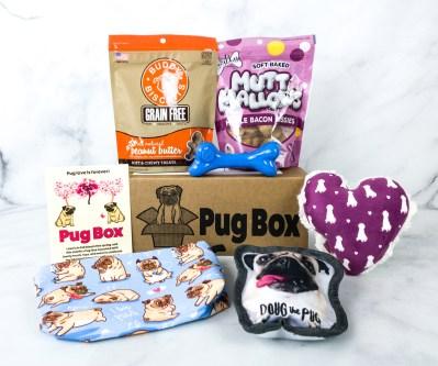 Pug Box May 2020 Subscription Box Review + Coupon