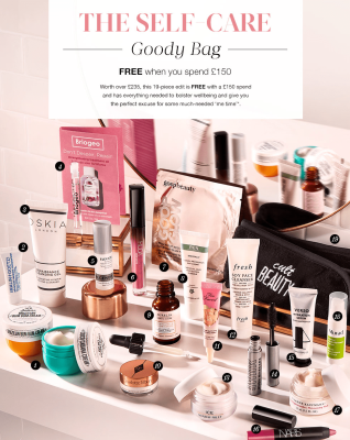 Cult Beauty Luxe Skin Care Goody Bag GWP Available Now + Full Spoilers!
