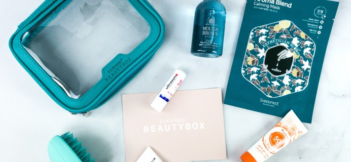 lookfantastic Beauty Box June 2020 Subscription Box Review