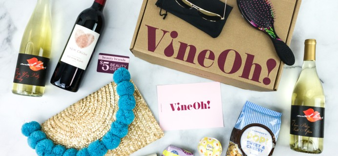 Vine Oh! Limited Edition Subscription Box Review + Coupon – OH! SUMMER FUN! BOX