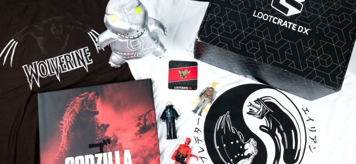 Loot Crate DX March 2020 Subscription Box Review & Coupon