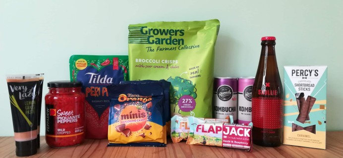 DegustaBox UK April 2020 Subscription Box Review + Coupon!