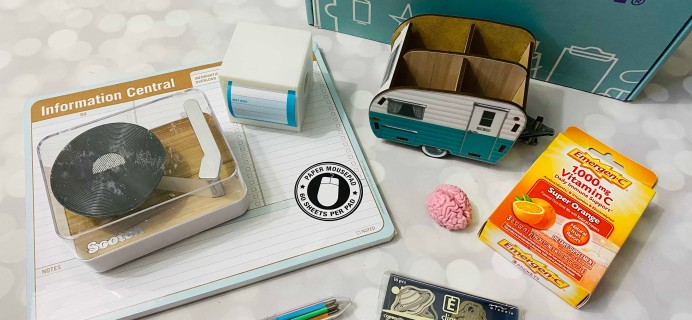 Desk Stash Spring 2020 Subscription Box Review + Coupon
