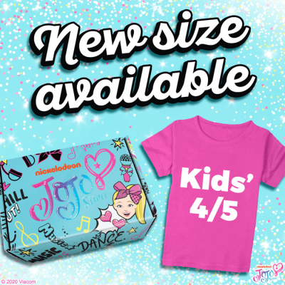 The Jojo Siwa Box Subscription Update! New Sizes Available!
