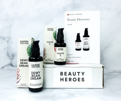Beauty Heroes June 2020 Subscription Box Review