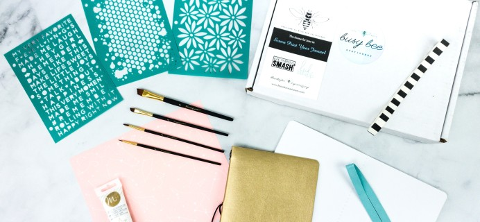 Busy Bee Stationery June 2020 Subscription Box Review