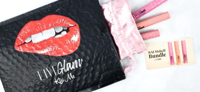 LiveGlam KissMe Balmshell Bundle Coming Soon + Coupon!