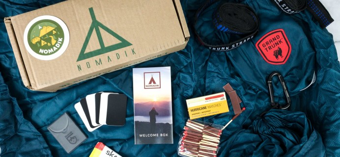 Nomadik Welcome Box Review + Coupon