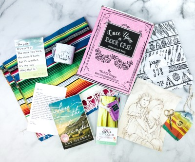 Once Upon a Book Club May 2020 Subscription Box Review + Coupon – Adult Box