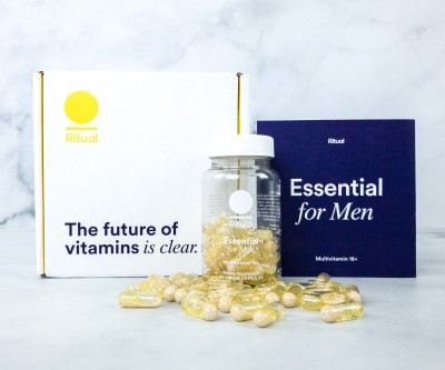Ritual Essential Men's Multivitamins Available Now + Coupon!