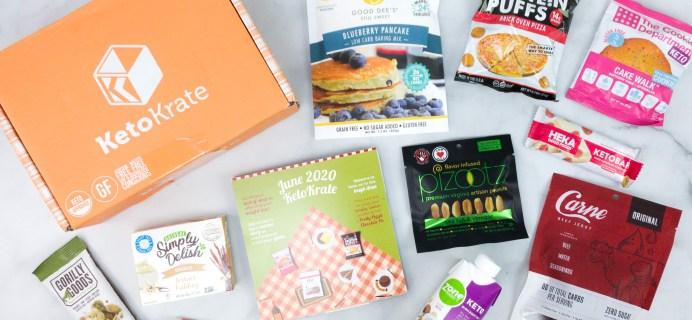 KetoKrate June 2020 Subscription Box Review + Coupon