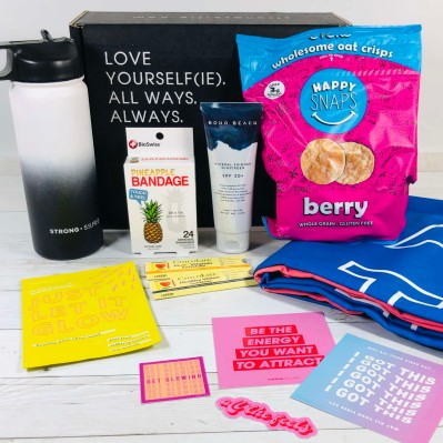 STRONG selfie Summer 2020 BURST Box Review + Coupon