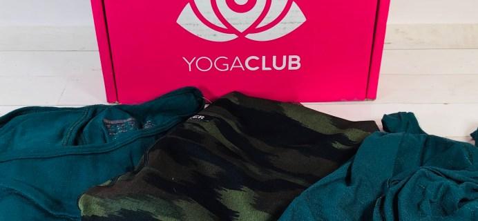 YogaClub Plus Size Subscription Box Review + Coupon – June 2020