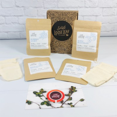 Simple Loose Leaf Tea June 2020 Subscription Box Review + Coupon!
