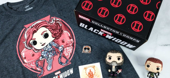 Marvel Collector Corps May 2020 Subscription Box Review – BLACK WIDOW!
