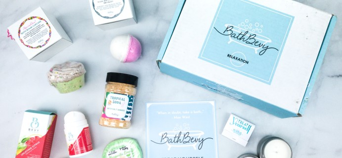 Bath Bevy June 2020 Subscription Box Review + Coupon