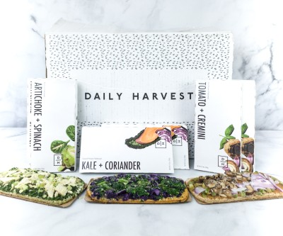 Daily Harvest Flatbreads Review + Coupon