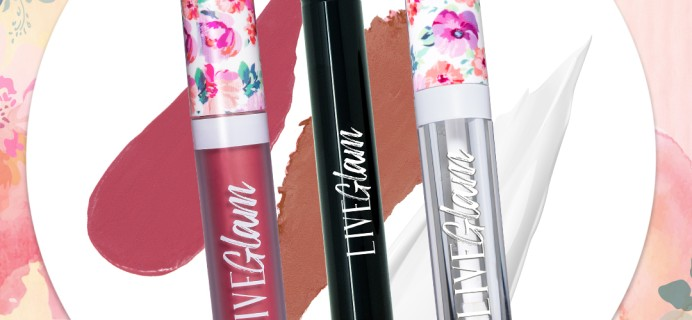 LiveGlam Lippie Club July 2020  Full Spoilers + Coupon!