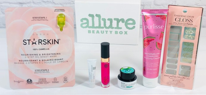 Allure Beauty Box June 2020 Review & Coupon