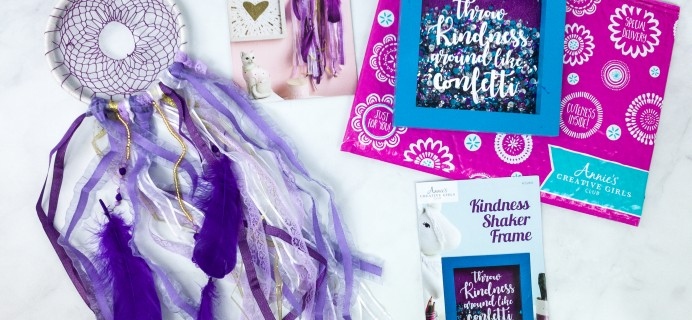 Annie's Creative Girls Club Review + 80% Off Coupon