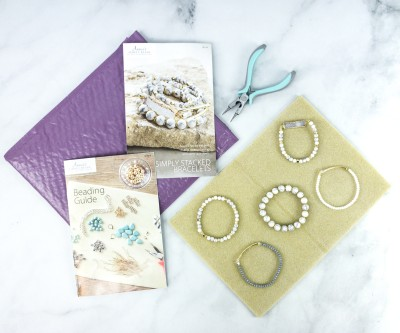 Annie's Simply Beads Kit-of-the-Month Club Review + Coupon – SIMPLY STACKED BRACELETS