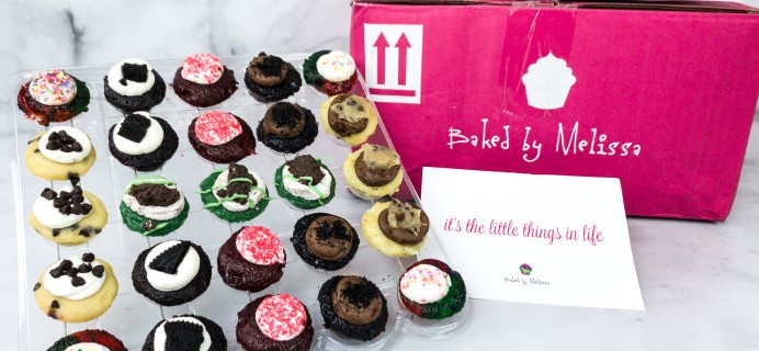 Baked by Melissa Mini Cupcakes Subscription Box Review