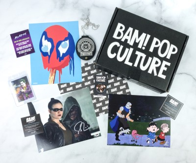 The BAM! Box Review – Vol 5 Box 4