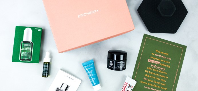 Birchbox Grooming July 2020 Subscription Box Review & Coupon