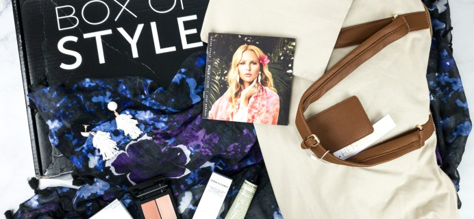 Box of Style by Rachel Zoe Summer 2020 Review + Coupon