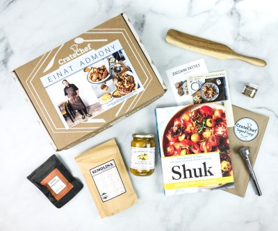 Crate Chef June 2020 Subscription Box Review + Coupon – Chef Einat Admony!