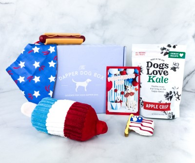 The Dapper Dog Box June 2020 Subscription Box Review + Coupon