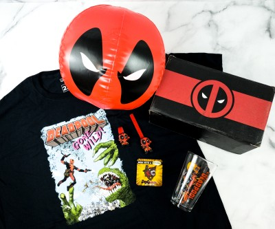 Deadpool Club Merc March 2020 Subscription Box Review + Coupon