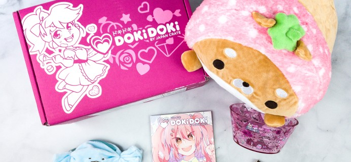 Doki Doki May 2020 Subscription Box Review & Coupon
