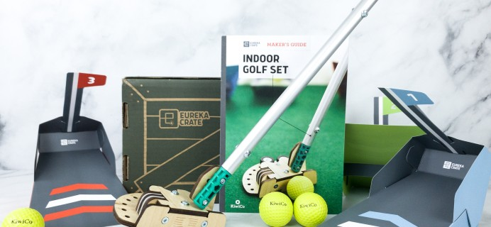 Eureka Crate Review + Coupon – INDOOR GOLF SET