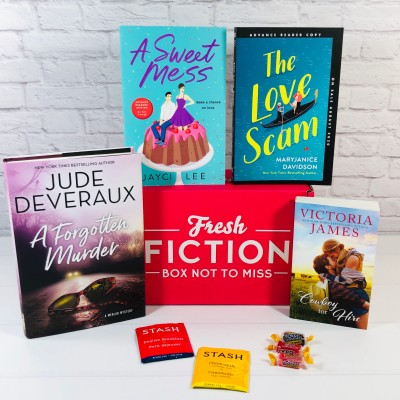 Fresh Fiction Box June 2020 Subscription Box Review + Coupon