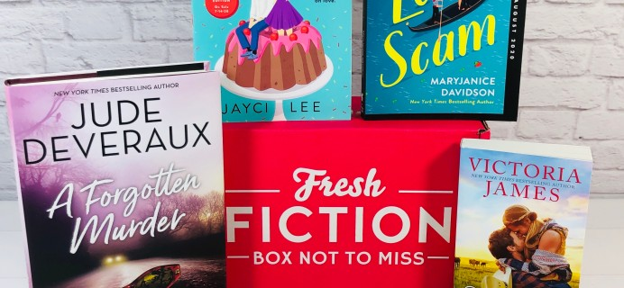 Fresh Fiction Box June 2020 Subscription Box Review + Coupon